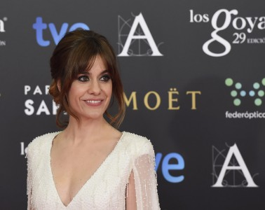 Actress Alexandra Jimenez during photocall of the 29th annual Goya Film Awards ceremony in Madrid , Saturday Feb. 07, 2015